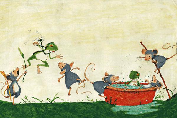 谁给小青蛙一个家