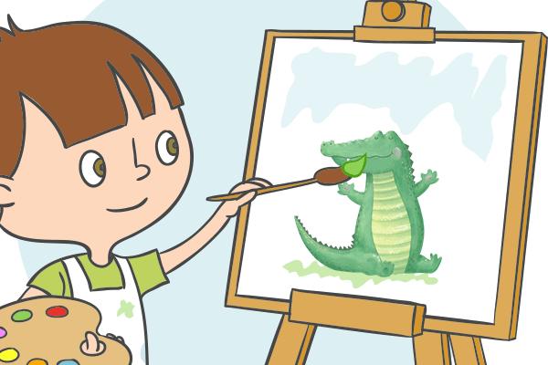 我把妈妈变成了鳄鱼