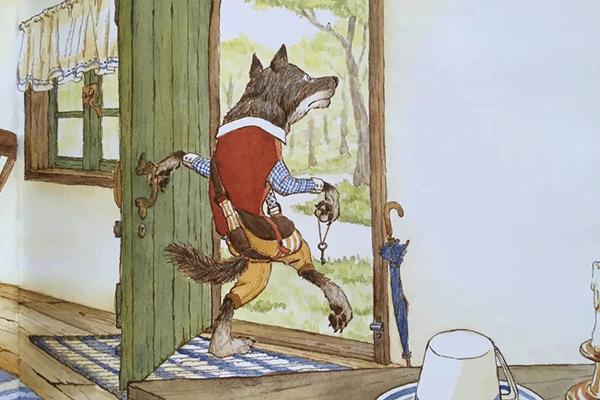大灰狼才应该小心